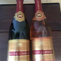 DOMAINE LUCIEN ALBRECHT is a great holiday champagne-like alternative