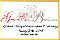 Union des Grand Crus de Bordeaux (UGCB) Presents Bordeaux Washington DC 2010 Grand Tasting Event