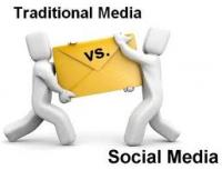 Social Media  vs Print Advertising