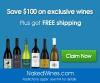 Naked Wines is a Great Budget Wine Club, $100 coupon