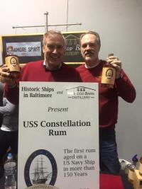 The resurgence of Maryland Distilling, USS Constellation Tobacco Barn Rum, a US Navy connection with Baltimore Partnerships
