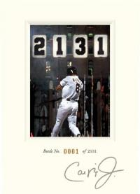 "Axios Wine Introduces Limited Edition ""2131\"" Cabernet in Honor of 20th Anniversary of Cal Ripken, Jr.\'s Streak"