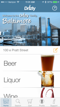 The UBER of Wine & Spirit Delivery-Drizly brings Beer, Wine, Alcohol Home w Delivery Service -  Your town