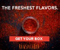 Raw Spice- Spice of the Month via Raw Spice Bar delivered to your home.