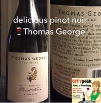 Thomas George Estates Pinot Noir continues legacy of Davis Bynum Russian River Valley